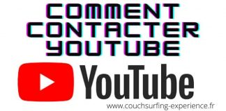 comment contacter youtube