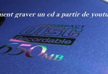 comment graver un cd a partir de youtube