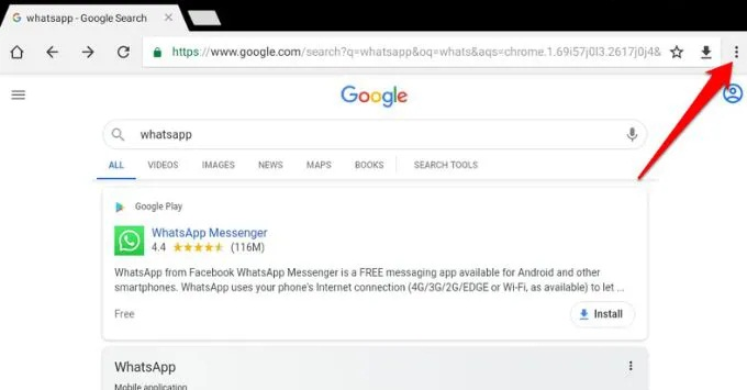 how to use whatsapp on tablet